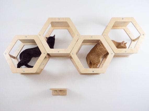 Cat complex Cat Tree Cat hammock Pet house Cat shelf Cat bed modern Cat furniture wall Cat tree furniture Home for cats