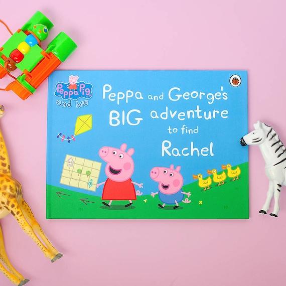 Personalised Children S Book Peppa Pig Big Etsy