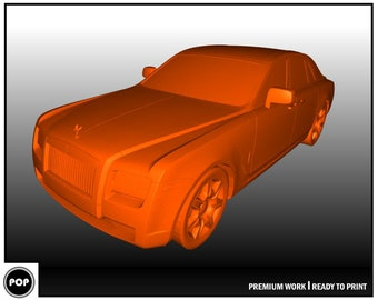 Ferrari FXX K 3D Model 3D Printing Car | Etsy
