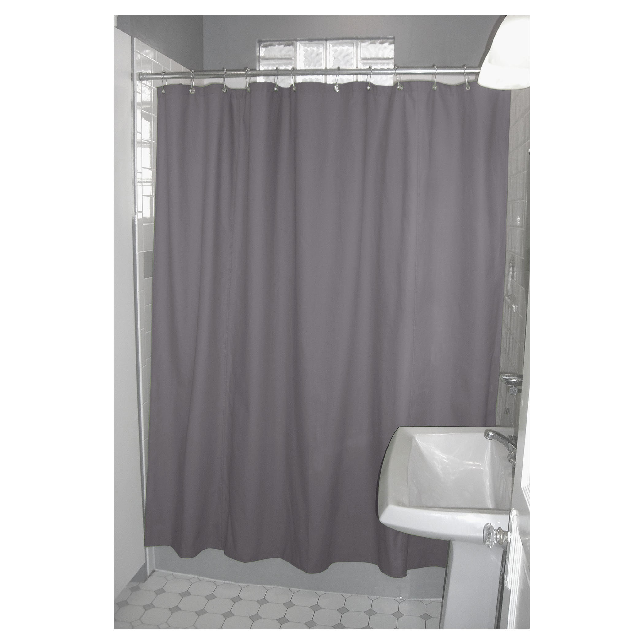 Organic Shower Curtain Three Sizes And Three Colors