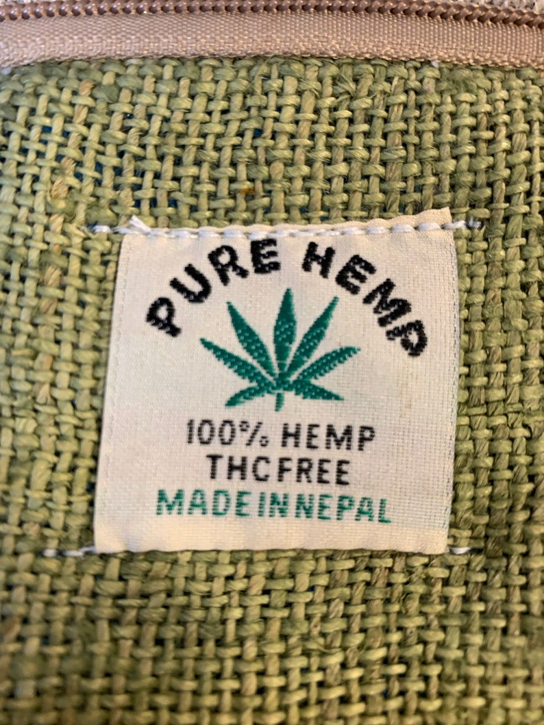 laptop bag pure Nepal natural eco friendly hemp yarn. Hemp Backpack Rucksack