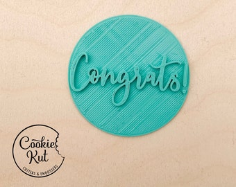 Congrats! Embosser Stamp