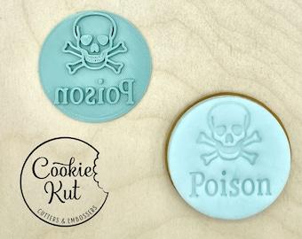 Poison - Halloween Embosser Stamp