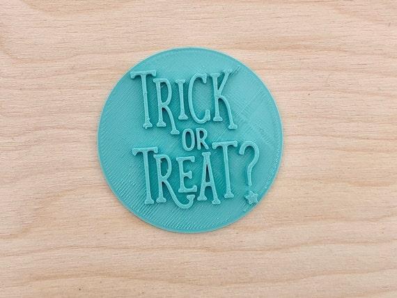 Trucco o trattare stile 1 - Halloween Embosser Francobollo