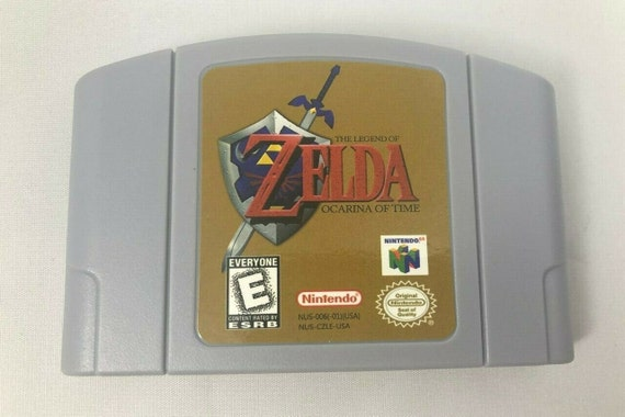 Legend Of Zelda Ocarina Of Time N64 Nintendo 64