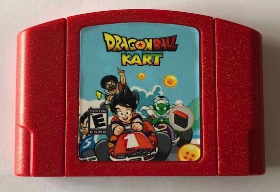 Dragon Ball Dragonball Kart 64 N64 Nintendo 64