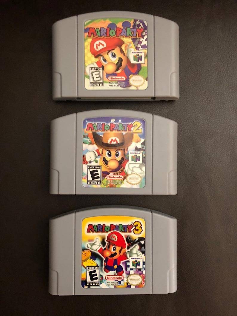 Mario Party 1 2 3 Nintendo 64 N64 *USA Seller* [Fast+Free Shipping]