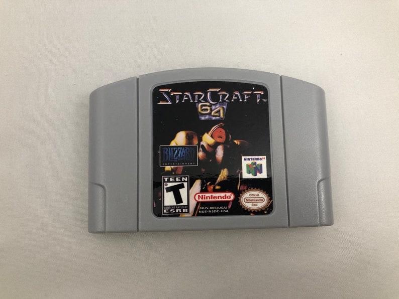 Starcraft 64 N64 Nintendo 64