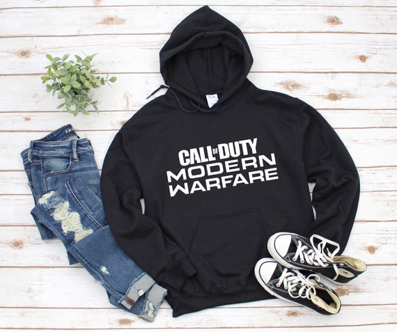 Call of Duty: Modern Warfare Pullover Hoodie Black/White/Grey Options