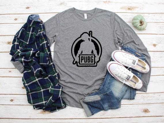 PubG Long Sleeve Black/White/Grey Options