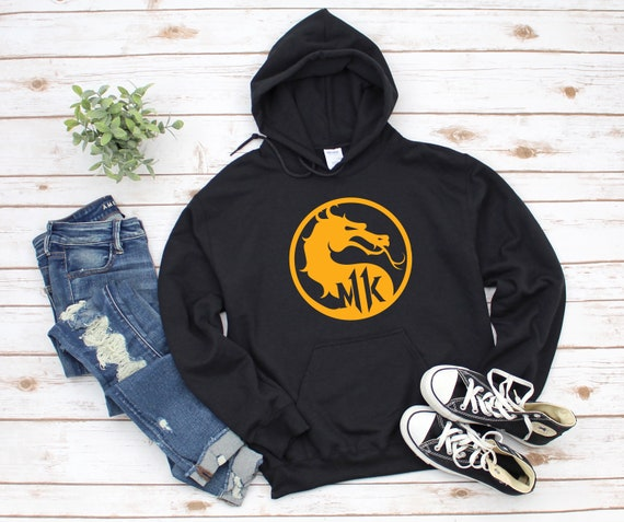 Mortal Kombat 11 Pullover Hoodie Black/White/Grey Options