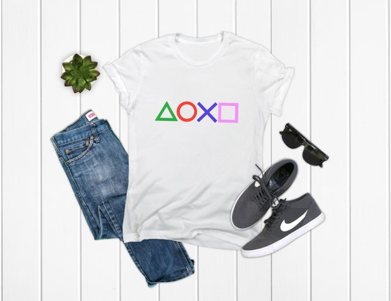 PlayStation T-Shirt Black/White/Grey Options