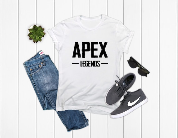 Apex Legends T-Shirt Black/White/Grey Options