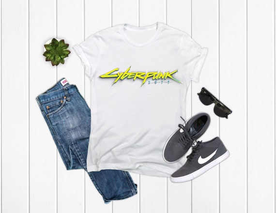 Cyberpunk 2077 T-Shirt Black/White/Grey Options