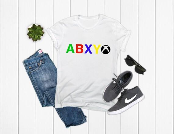 Xbox T-Shirt Black/White/Grey Options