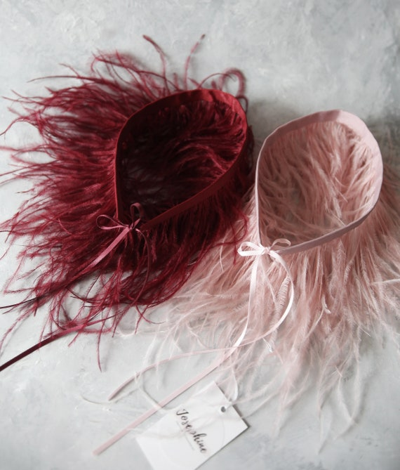Ostrich Feathers 10g Bag of Feather Assorted Colors Pack of 4 Party Accessory