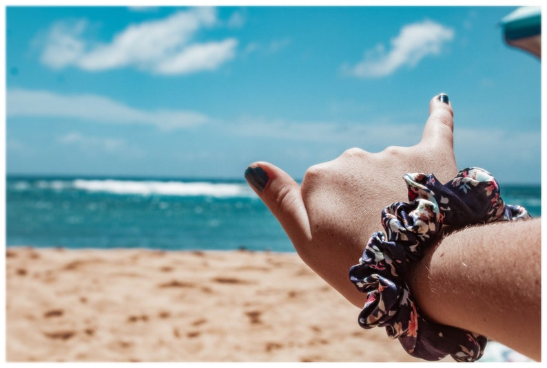 Poni ~ Kauai Ties Scrunchies Set of 3
