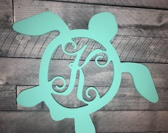 Turtle - Wooden Monogram