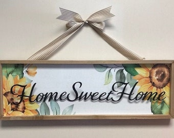 Home Sweet Home Decorative Sign