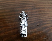 Kachina doll in sterling silver