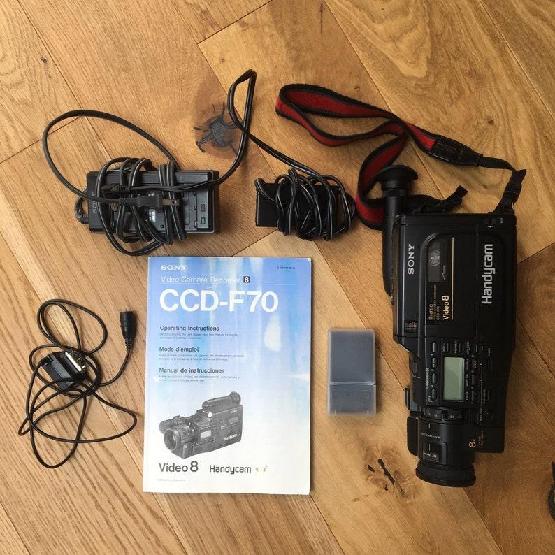 Hi 8 Camera - Sony CCD F70