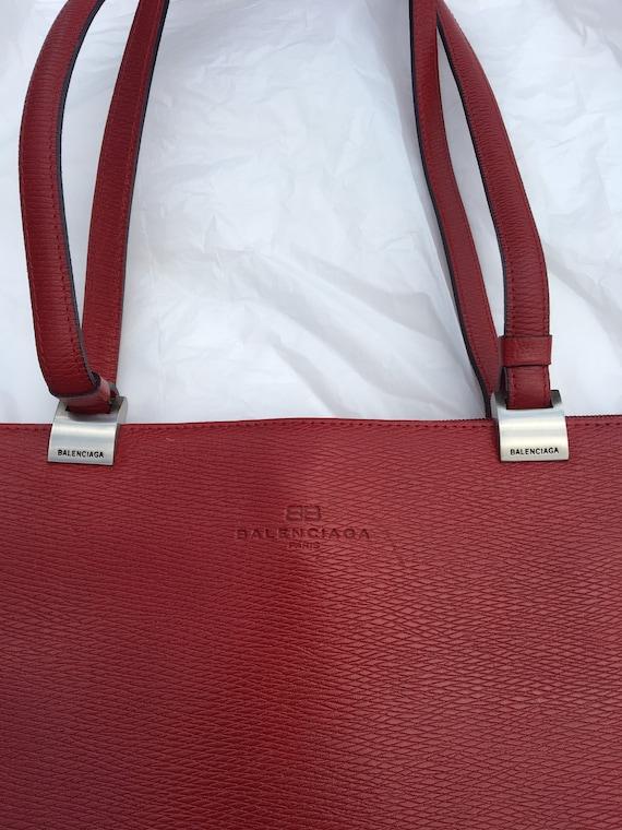 Balenciaga - Vintage BALENCIAGA Paris - Red Purse
