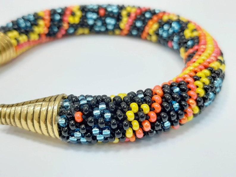 16 strands beaded kumihimo pattern PDF tutorial South night bracelet