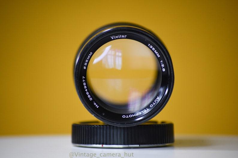 Vivitar 135mm f2.8 Lens Minolta Mount MSR