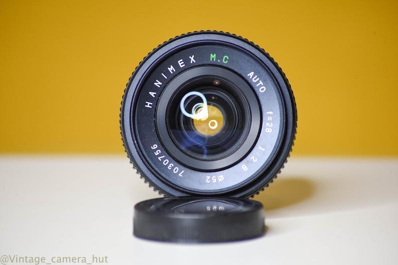 Hanimex MC Auto 28mm f2 8 Vintage Lens M42 Screw Mount