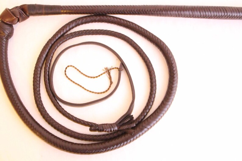 Kids Stock whip Genuine Cow Hide Leather Stockwhip 3 Ft Totally Hand Crafted