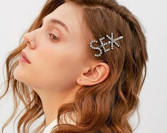Back To Search Resultsjewelry & Accessories Charitable New Fashion Korean Jewelry Letter Hairwear Simple Hair Ornaments Personalized Hair Clips For Women Retro Word Folder Headdress Hair Jewelry