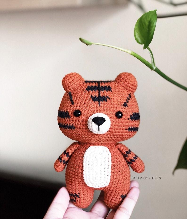 Fei Fei The Little Panda Crochet PDF pattern instant download