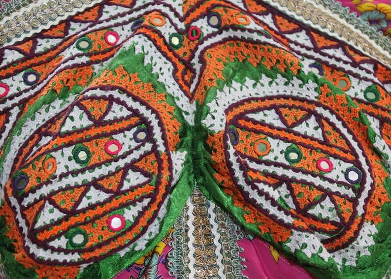Indian ACH 88 Vintage Choli Banjara Choli Mirror Work Banjara Blouse
