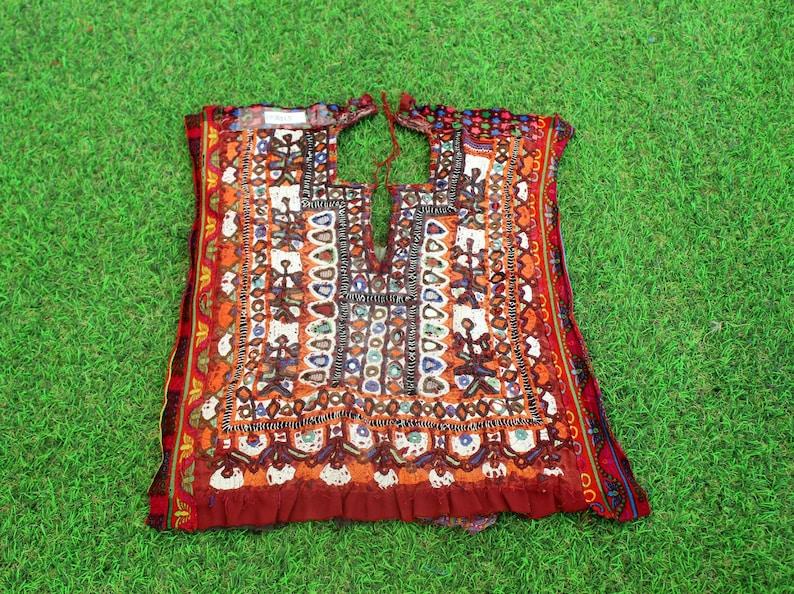 Embroidery Yoke 15 Ethnic Neck Yoke, Banjara Yoke Patch Patch Sewing Mirror Embroidery Mirror Patch