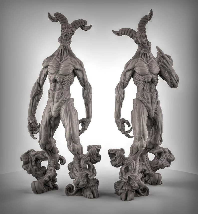 Nightwalker 3D Resin Printed Model  ideal for Dungeons and image 0