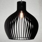 PEAR Wood Pendant Light,Wooden light,Modern Chandelier Lighting, Hanging Dining Lamp, Ceiling Light Fixture,Geometric Lamp,Contemporary lamp