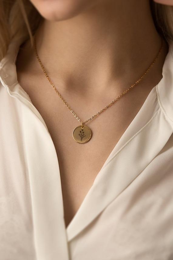 Dainty Custom Initial Necklace