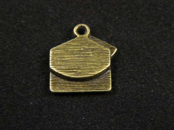 10x Tibetan Silver Heart Charms Sister Words Beads Pendant DIY 13*16mm
