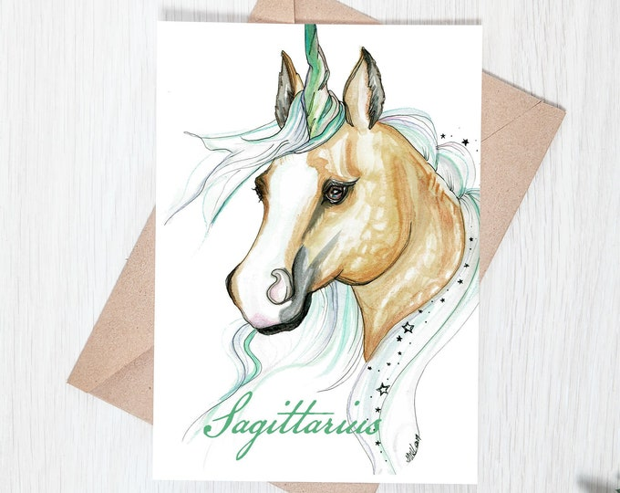 Sagittatrius Greeting Card