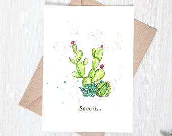 Succ It - Greeting Card Download