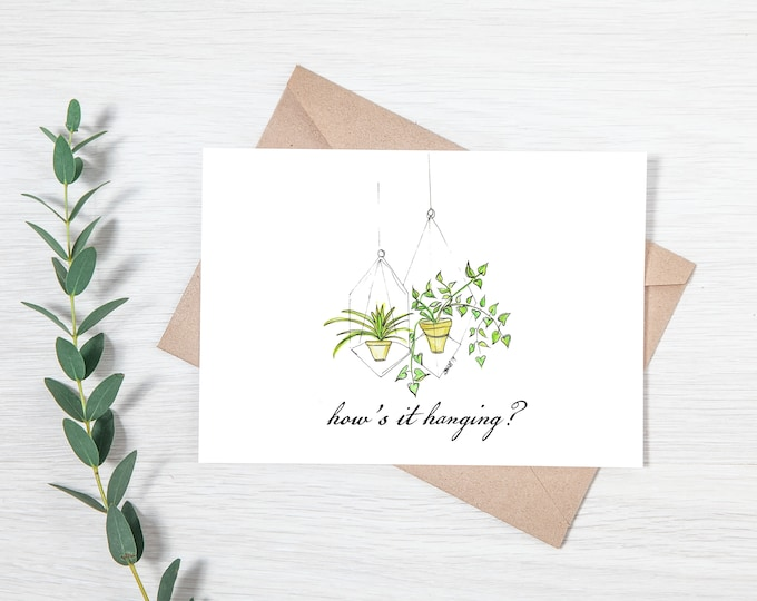 How's It Hanging? - Greeting Card Download