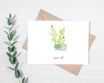 Succ It - Greeting Card Download