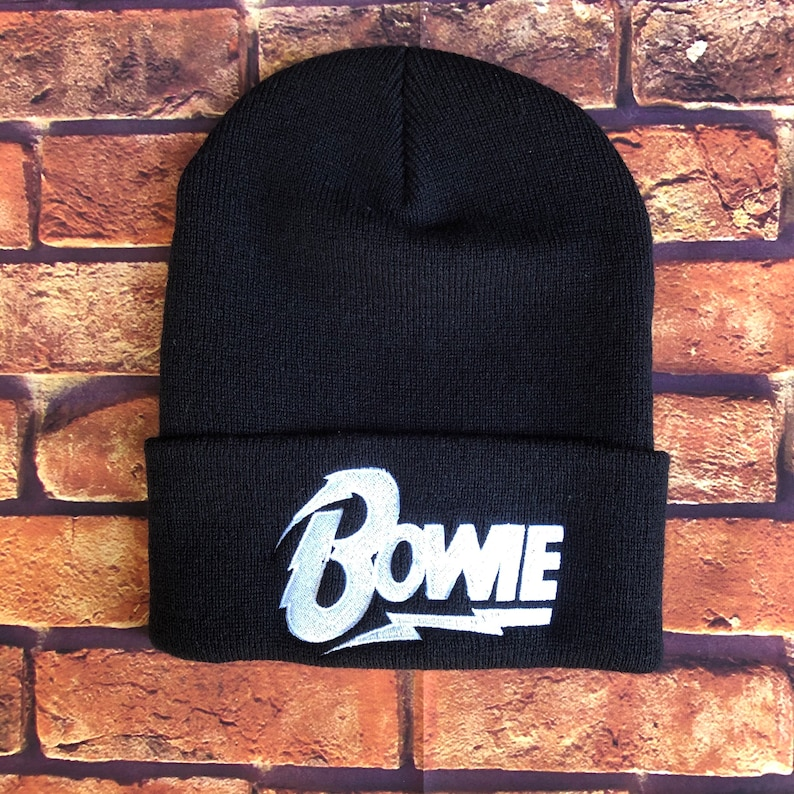Bowie The Foo Fighters and The Strokes Inspired Unisex Cuffed Beanies The Smiths Depeche Mode,The Cure