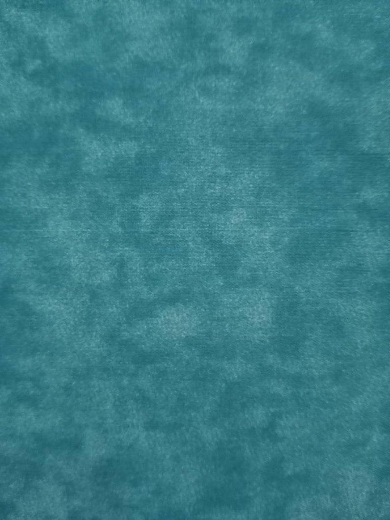 100/% Cotton Blender Fabric in Aqua