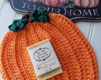 Fall Spice Coconut Oil Soap | Organic | Thanksgiving | Autumn  | Pumpkin | Harvest