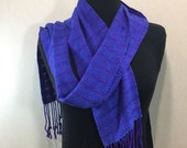 Handwoven Scarf with Beads