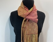 Handwoven Message Scarf