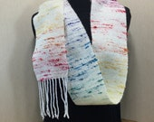 Rainbow Bejeweled Scarf