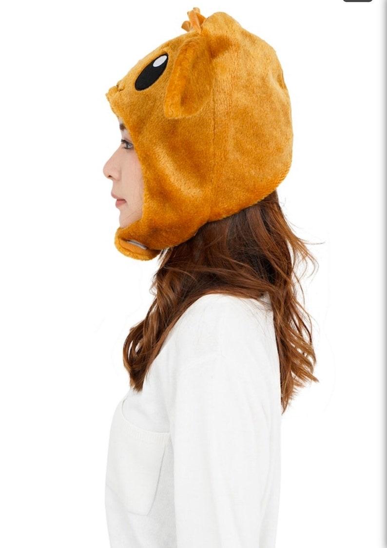 SAZAC Pok\u00e9mon EEVEE cosplay hat fleece costume cap adult size
