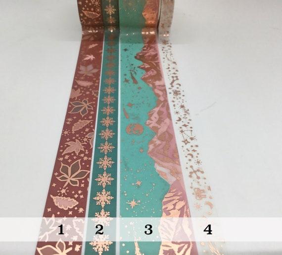 PaperGeek Enchanted Autumn Washi Tape Sample